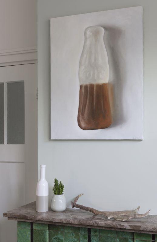 Interieur schilderij Colasnoepje, olieverf op doek, 80 x 60 cm, Serge de Vries