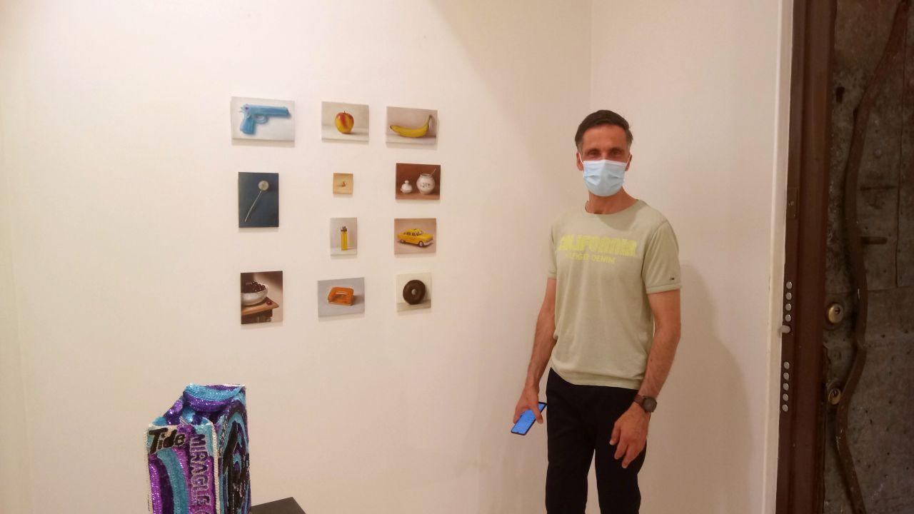 Serge de Vries bij Galleria Valentina Bonomo in Rome